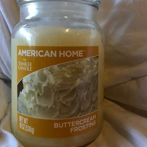 Yankee candle American home 19 Oz buttercream